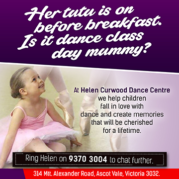 Helen Curwood Kinder Classes